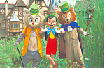 Pinocchio at Disney World, Florida Postcard