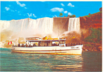 Maid of the Mist Niagara Falls Canada  Postcard cs1375