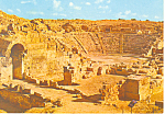 Click here to enlarge image and see more about item cs1381: Caesarea,Israel, Roman Amphitheatre Postcard