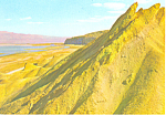Click here to enlarge image and see more about item cs1384: Dead Sea Israel View Towards Sodom Postcard cs1384