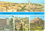 Jerusalem, Israel ,Multi Views Postcard 1970