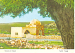 Click here to enlarge image and see more about item cs1388: Bethlehem, Israel ,Tomb of Rachel Postcard