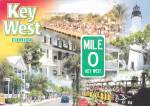 Click here to enlarge image and see more about item CS13993: Key West Mile 0 Florida Podtcard CS13993