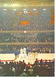 Click here to enlarge image and see more about item cs1403: Medal Ceremony, Tokyo Olympics 1964 Postcard