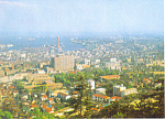 Panoramic View Kobe Por Japan Postcard cs1420