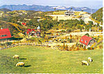 Click here to enlarge image and see more about item cs1424: Mt Rokko Meadow Japan Postcard cs1424
