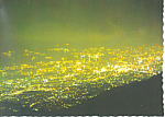 Mt Rokko, Night View From Top, Japan Postcard