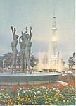 Click here to enlarge image and see more about item cs1445: T V Tower, Sapporo, Japan Postcard
