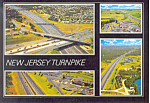 Click here to enlarge image and see more about item cs1480: The New Jersey Turnpike Postcard cs1480