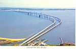 Click here to enlarge image and see more about item cs1493: Chesapeake Bay Bridge Maryland Postcard cs1493