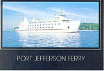 Port Jefferson Ferry Postcard