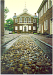 Independance Hall Park Philadelphia PA Postcard cs1502