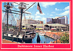 Baltimore Inner Harbor , Baltimore, Maryland Postcard