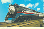 Southern Pacific 4449 Steam Train Postcard