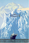 Holland America to Alaska Postcard