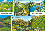 Views of Arlberg, Austria  Postcard