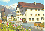 Hotel Arlberg,and St Anton Mountain, Austria  Postcard