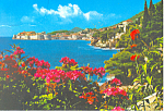 Click here to enlarge image and see more about item cs1587: Panorama of Dubrovnik, Croatia  Postcard 1971