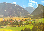 Oberammergau and Labergebirge, Germany  Postcard
