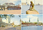 Click here to enlarge image and see more about item cs1598: Views of Copenhagen Denmark Postcard cs1598