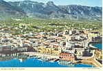 Click here to enlarge image and see more about item cs1602: Kyrenia Cyprus from the air Postcard cs1602