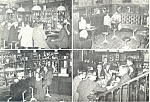Click here to enlarge image and see more about item cs1612: Rose Orange English Pub, Den Haag Netherlands Postcard cs1612