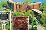 Hotel Thayer West Point  NY Postcard cs1630