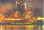 Genius of Water, Cincinnati,Ohio Postcard