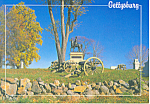 Click here to enlarge image and see more about item cs1636: East Cemetery Hill Gettysburg PA Postcard cs1636
