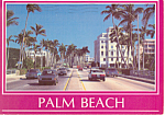 Palm Beach,Florida Postcard 1989