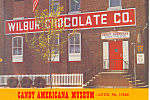 Wilbur Chocolate Co, Lititz, PA Postcard