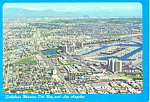 Click here to enlarge image and see more about item cs1659: Marina Del Ray and Los Angeles CA Postcard