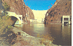 Boulder Hoover Dam Nevada Arizona Postcard