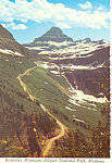 Click here to enlarge image and see more about item cs1696: Reynolds Mountain,Glacier National Park, MT Postcard