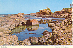 Click here to enlarge image and see more about item cs1706: Boiler Bay on Oregon Coast Postcard