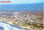 Lincoln City Oregon Postcard cs1709 1972