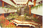 White Swan Hotel China Atrium Lobby Postcard cs1721