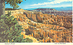 Click here to enlarge image and see more about item cs1722: Sunset Point Bryce Canyon National Park UT Postcard cs1722