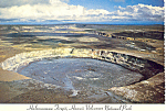 Click here to enlarge image and see more about item cs1725: Halemaumau Firepit, Hawaii Postcard