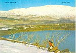 Golan Heights, Mt Hermon with Snow  Postcard