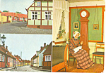 Click here to enlarge image and see more about item cs1760: Ronne, Denmark Postcard 1974