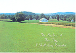 A Farm in Dutch Country PA Postcard