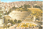 Click here to enlarge image and see more about item cs1820: Amphitheatre of Philadelphia, Amman Jordan Postcard