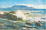 Cape Town,Table Mountain, South Africa Postcard