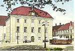 Click here to enlarge image and see more about item cs1836: Jonkoping Sweden Gamla Radhuset Postcard cs1836