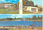 Nybro Sweden Multi View Postcard cs1841