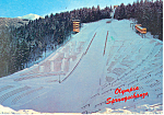 Click here to enlarge image and see more about item cs1856: Olympic Ski Jump Innsbruck Austria Postcard cs1856