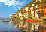 Gandria on Lake Lugano, Switzerland Postcard