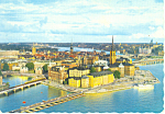 Click here to enlarge image and see more about item cs1877: Stockholm Sweden Riddarholmen Postcard cs1877