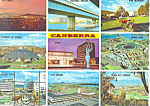 Click here to enlarge image and see more about item cs1902: Highlights of Australia's Capitol Canberra Postcard